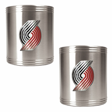 Portland Trailblazers 2 Can Holder Set