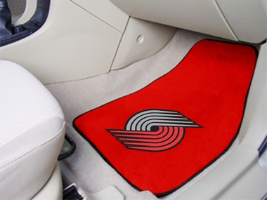 Portland Trailblazers 2 Piece Car Mats