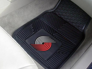 Portland Trailblazers 2 Piece Heavy Duty Vinyl Car Mats