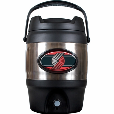 Portland Trailblazers 3 Gallon Stainless Steel Jug