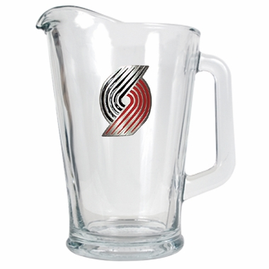 Portland Trailblazers 60 oz Glass Pitcher