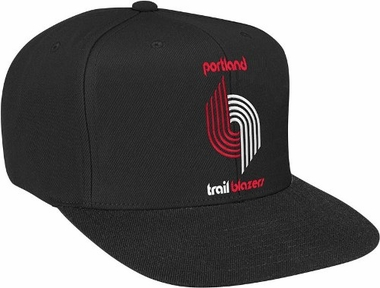 Portland Trailblazers Basic Logo Snap Back Hat