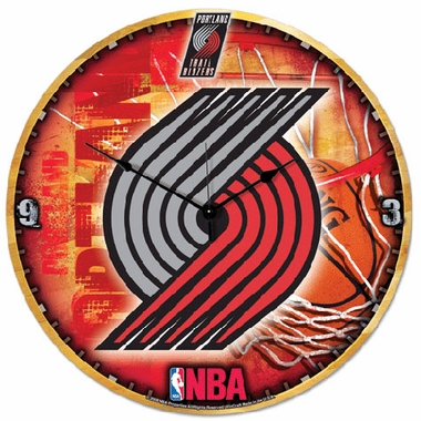 Portland Trailblazers Big 18 Inch Hi Definition Clock