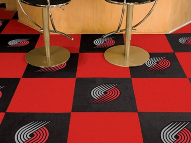 Portland Trailblazers Carpet Tiles