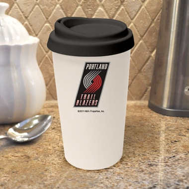 Portland Trailblazers Ceramic Travel Cup