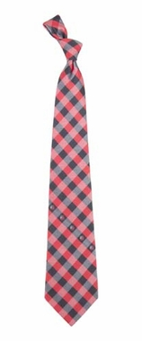 Portland Trailblazers Check Poly Necktie