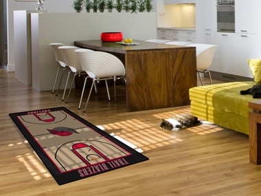 Portland Trailblazers Court Runner Rug