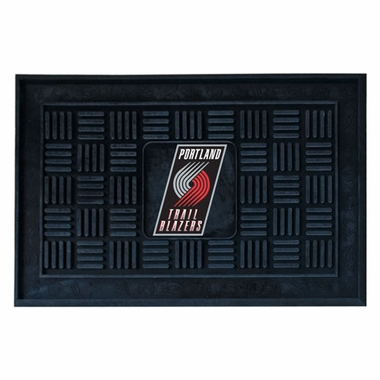 Portland Trailblazers Heavy Duty Vinyl Doormat
