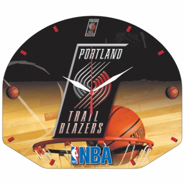Portland Trailblazers High Definition Wall Clock