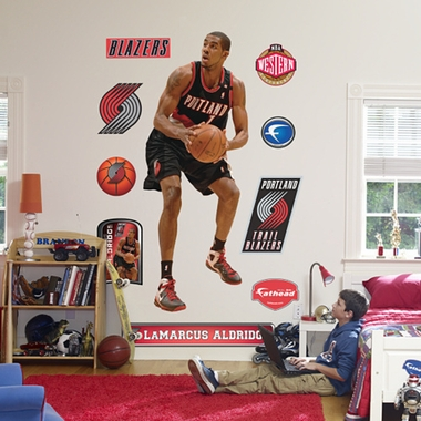 Portland Trailblazers LaMarcus Aldridge Fathead Wall Graphic