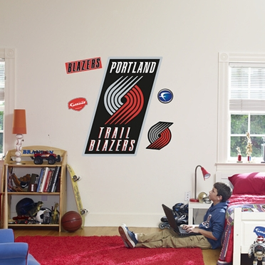 Portland Trailblazers Logo Fathead Wall Graphic