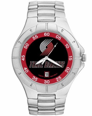 Portland Trailblazers Pro II Men's Stainless Steel Watch