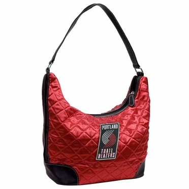 Portland Trailblazers Quilted Hobo Purse