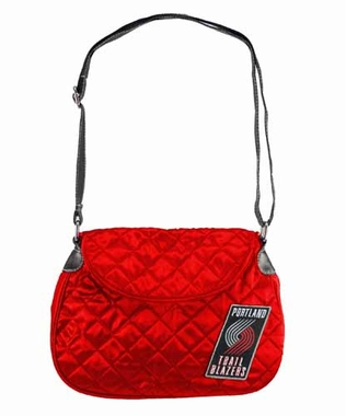 Portland Trailblazers Quilted Saddlebag