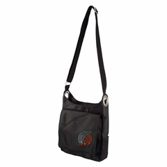 Portland Trailblazers Sport Noir Sheen Crossbody Bag