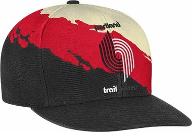 Portland Trailblazers Vintage Paintbrush Snap Back Hat