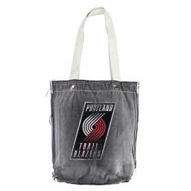 Portland Trailblazers Vintage Shopper (Black)