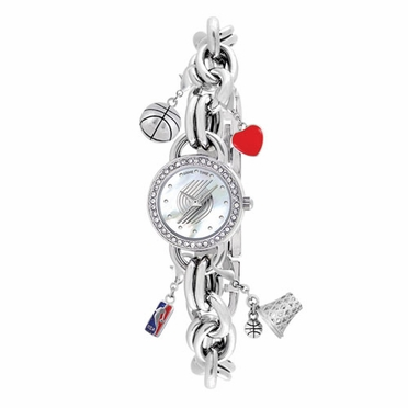 Portland Trailblazers Women's Charm Watch