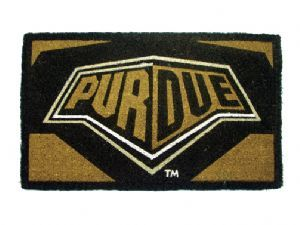 Purdue 18x30 Bleached Welcome Mat