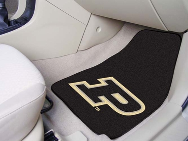 Purdue 2 Piece Car Mats