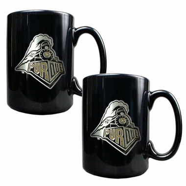 Purdue 2 Piece Coffee Mug Set