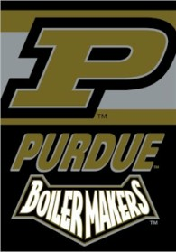 Purdue 2 Sided Banner (P)