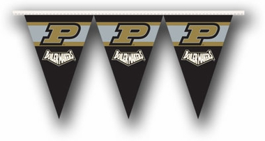 Purdue 25 Foot String of Party Pennants (P)