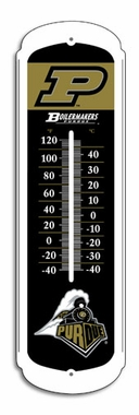 Purdue 27 Inch Outdoor Thermometer (P)
