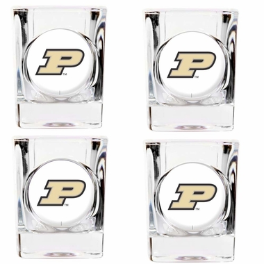 Purdue 4 Piece Shot Glass Set