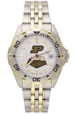 Purdue All Star Mens (Steel Band) Watch
