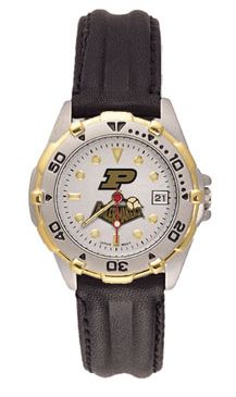 Purdue All Star Womens (Leather Band) Watch
