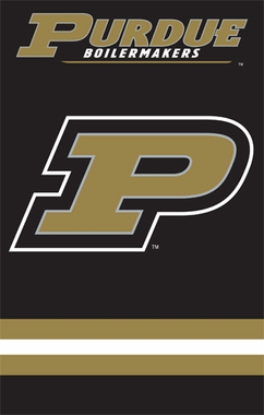 Purdue Applique Banner Flag