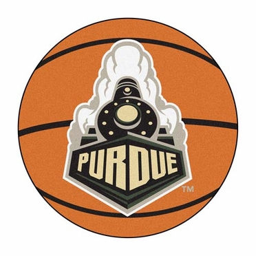 Purdue Basketball Shaped Rug
