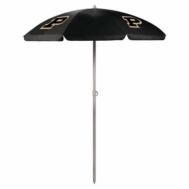 Purdue Beach Umbrella (Black)