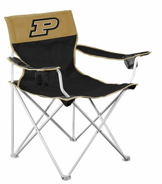 Purdue Big Boy Adult Folding Logo Chair