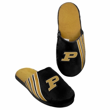 Purdue Boilermakers 2012 Team Stripe Logo Slippers