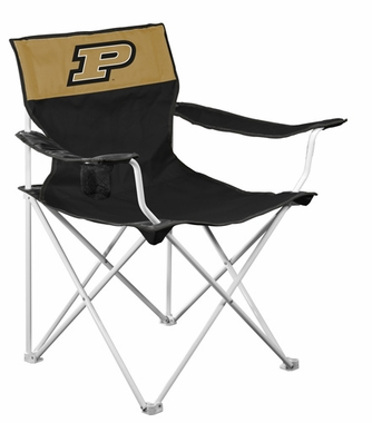 Purdue Canvas Adult Folding Logo Chair