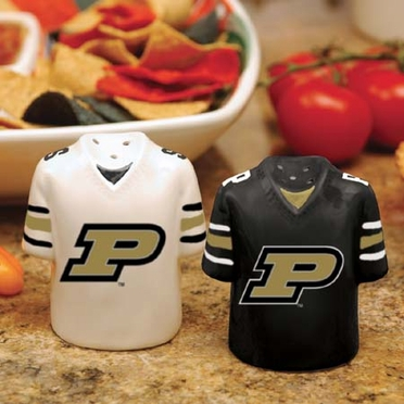 Purdue Ceramic Jersey Salt and Pepper Shakers
