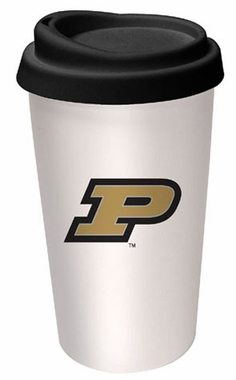 Purdue Ceramic Travel Cup