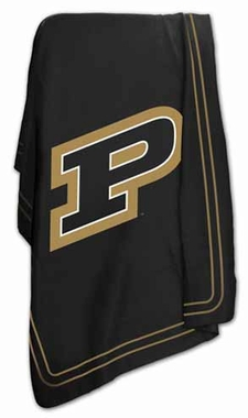 Purdue Classic Fleece Throw Blanket