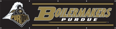 Purdue Eight Foot Banner