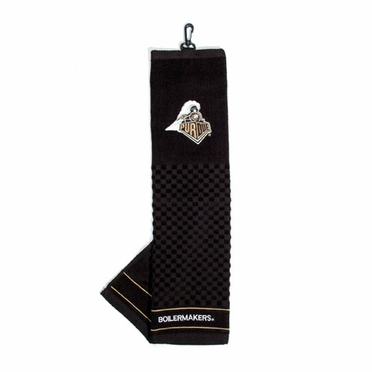 Purdue Embroidered Golf Towel