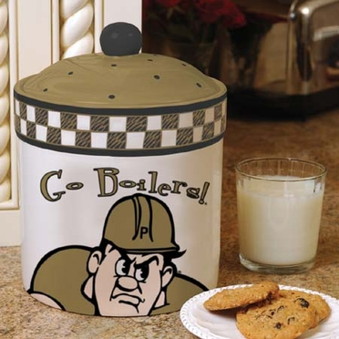 Purdue Gameday Ceramic Cookie Jar