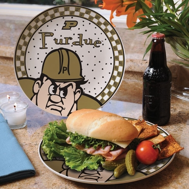 Purdue Gameday Ceramic Plate