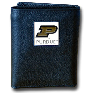 Purdue Leather Trifold Wallet (F)