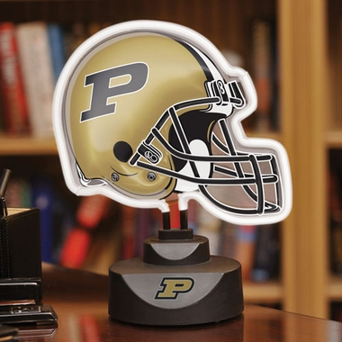 Purdue Neon Display Helmet