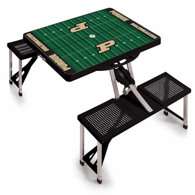 Purdue Picnic Table Sport (Black)