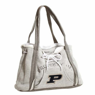 Purdue Property of Hoody Purse