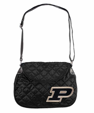 Purdue Quilted Saddlebag
