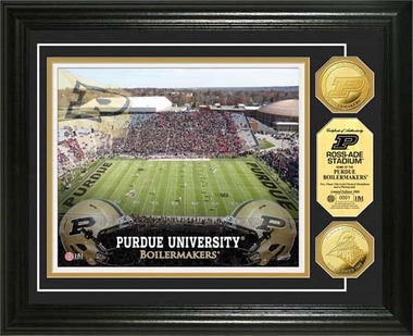 Purdue Boilermakers Purdue University Stadium Gold Coin Photo Mint